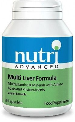 #Nutri advanced #multi-#liver formula potent #liver detox support & detox 60 caps,  View more on the LINK: http://www.zeppy.io/product/gb/2/221866509531/