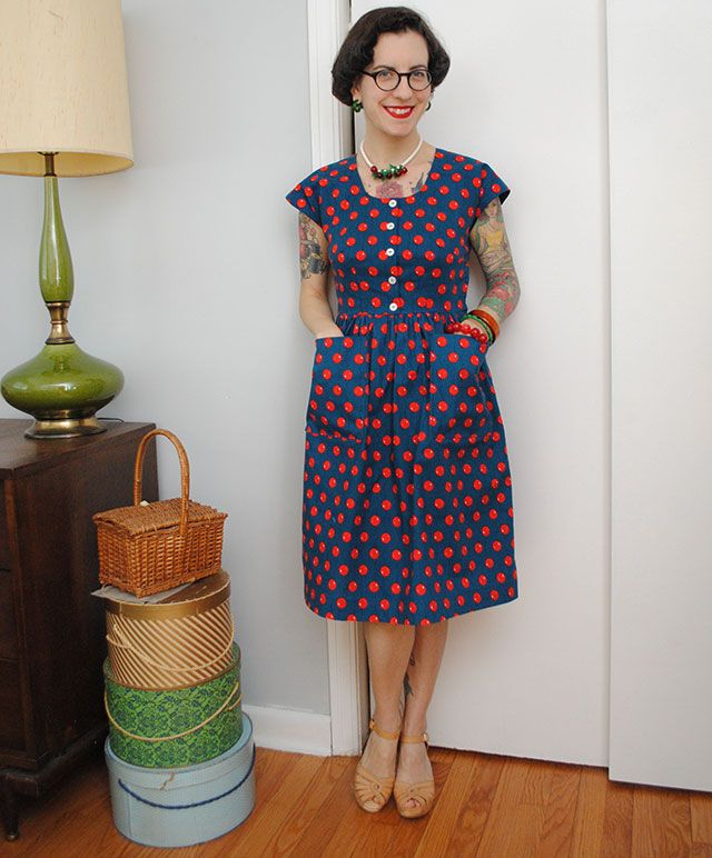 Birthday Dress Collection: Birthday Balloon Dress In Cloud9 Organic Cotton From The
