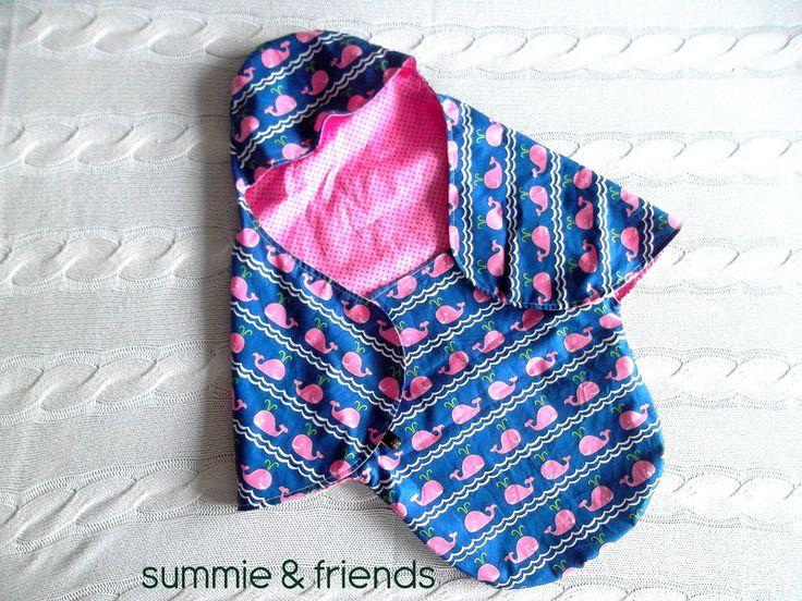 Fußsäcke - Einschlagdecke Babyschale - ein Designerstück von Summie-and-friends bei DaWanda