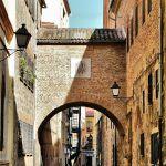 Rincón del centro histórico de Plasencia en Extremadura