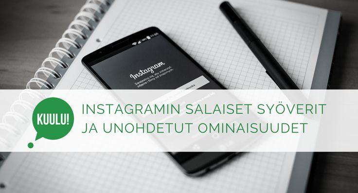 Instagram on perusominaisuuksiltaan melko suoraviivainen. Instgram-sovelluksesta löytyy kuitenkin paljon sellaisia ominaisuuksia, joista harva tietää.