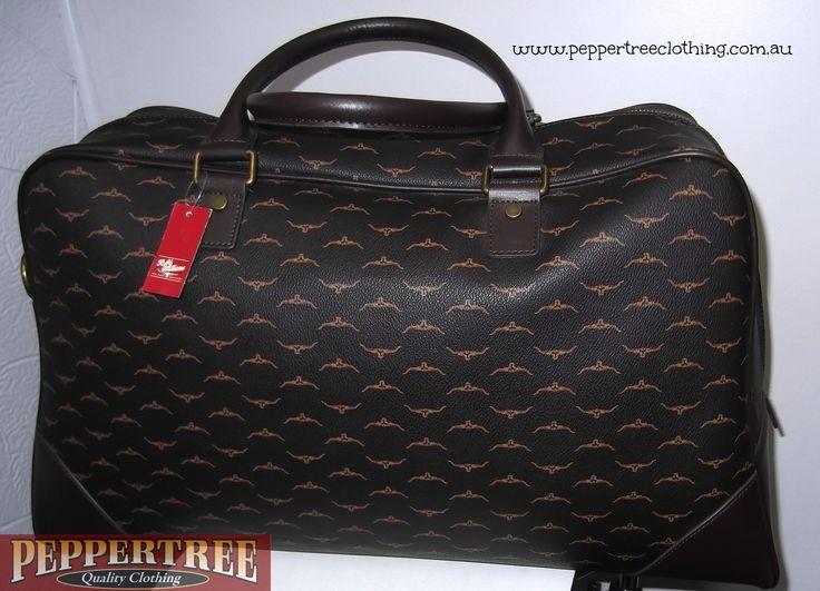R M Williams Steer Head Print Overnight Bag 629 00