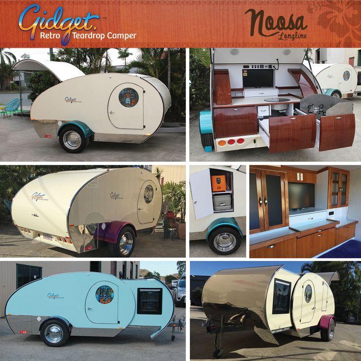 Gidget Retro Teardrop Camper Trailer in QLD | eBay