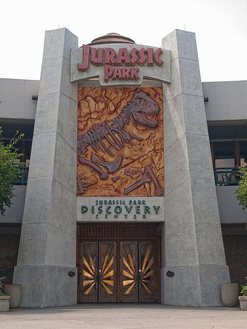 The Discovery Centre, Jurassic Park, Islands of Adventure, Universal Studios, Orlando, Florida.