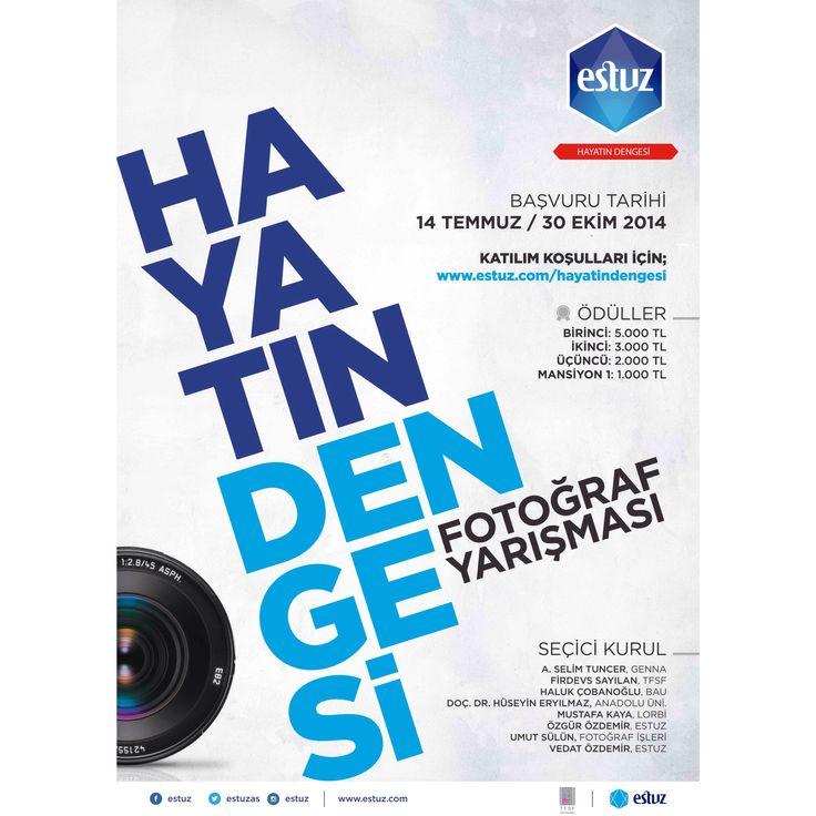 Başvurularınızı www.estuz.com adresinden yapabilirsiniz...  #estuz  #hayatındengesi  #fotoğrafyarışması