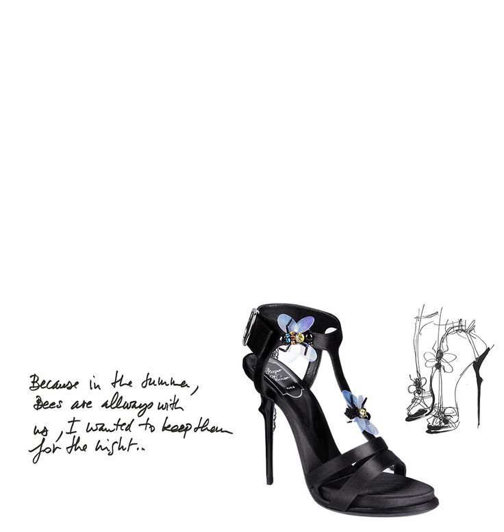 Sandals with playful details #RogerVivier #Caprices #TheLuxer