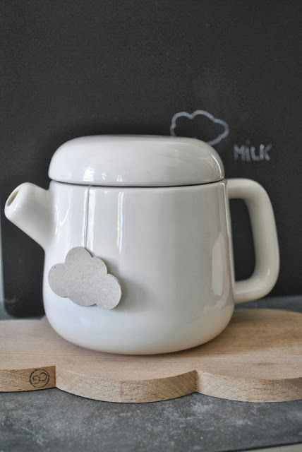 Via Nat et Nature | Simply Factory | White Tea Pot | Snug Studio Cloud ❥