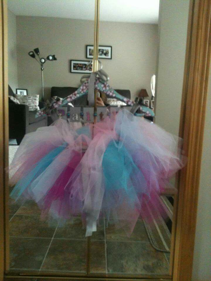Birthday tutu for a friend's daughter