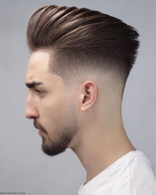40+ Best Low Fade Hairstyles For Men | Cool Low Fade Haircuts of 2020 -Medium Styled Pompadour