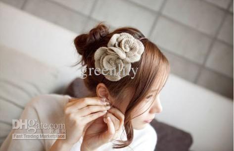 Party Blumen Haar Band Haar Fascinator Pins Heißer Entwurfs Koreanische Art Und 6 Farben