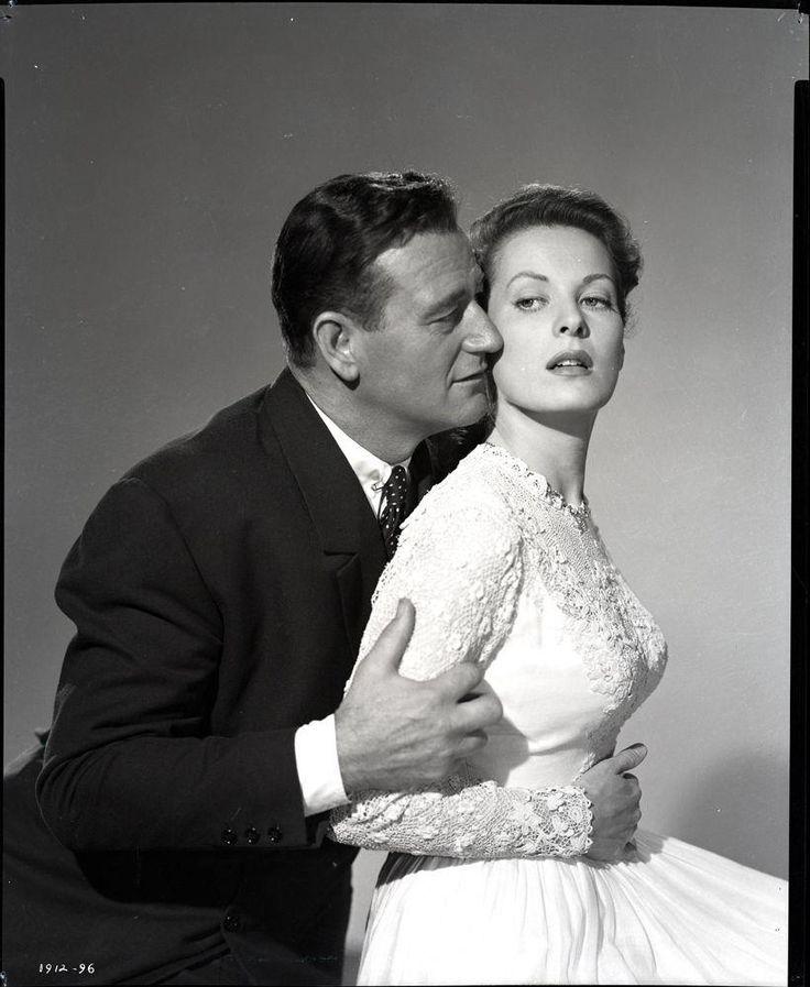 John Wayne and Maureen O'Hara