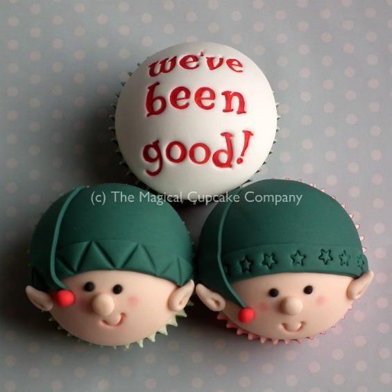 christmas cupcakes <3