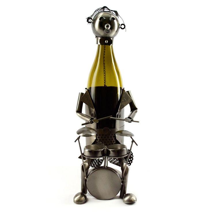 (Red) Bottle Holder Drummer Caddy