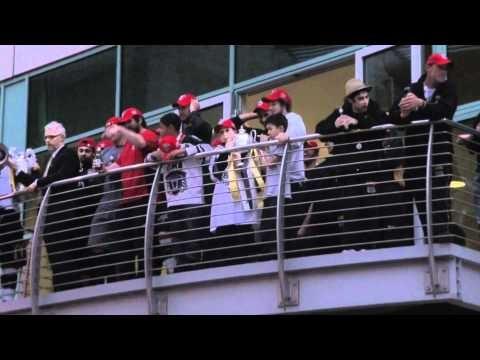 Nottingham Panthers Balcony Celebrations 2012