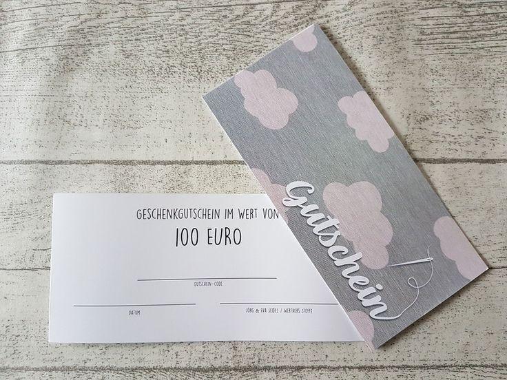 Weiteres - GUTSCHEIN über 100€ - ein Designerstück von werthers-stoffe bei DaWanda