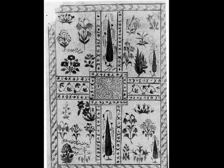 Plan of a Paradise Garden