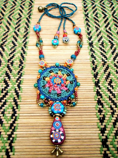 ~ My Tribe necklace ~ | AowDusdee on Flickr - Photo Sharing!