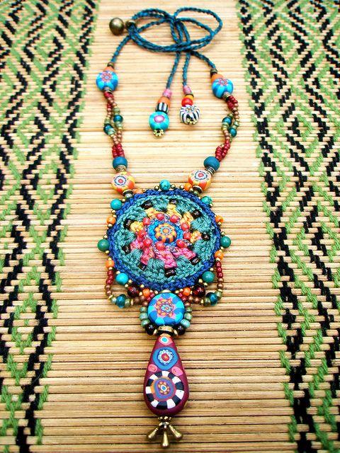 My Tribe necklace ~ by AowDusdee...Beautiful!