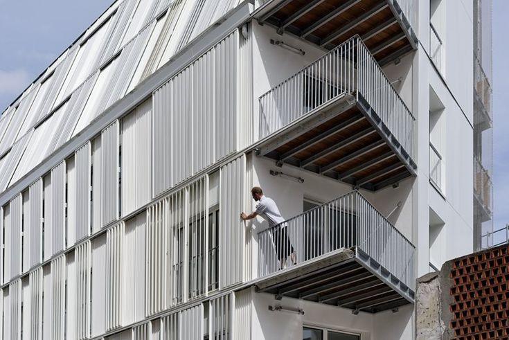 10 housing units Castagnary, Paris, 2016 - Dietmar Feichtinger Architectes