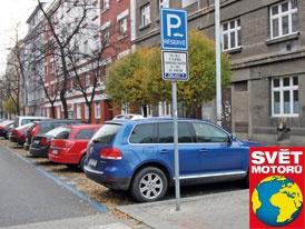 Parkování ve městech: Je modrá opravdu dobrá?