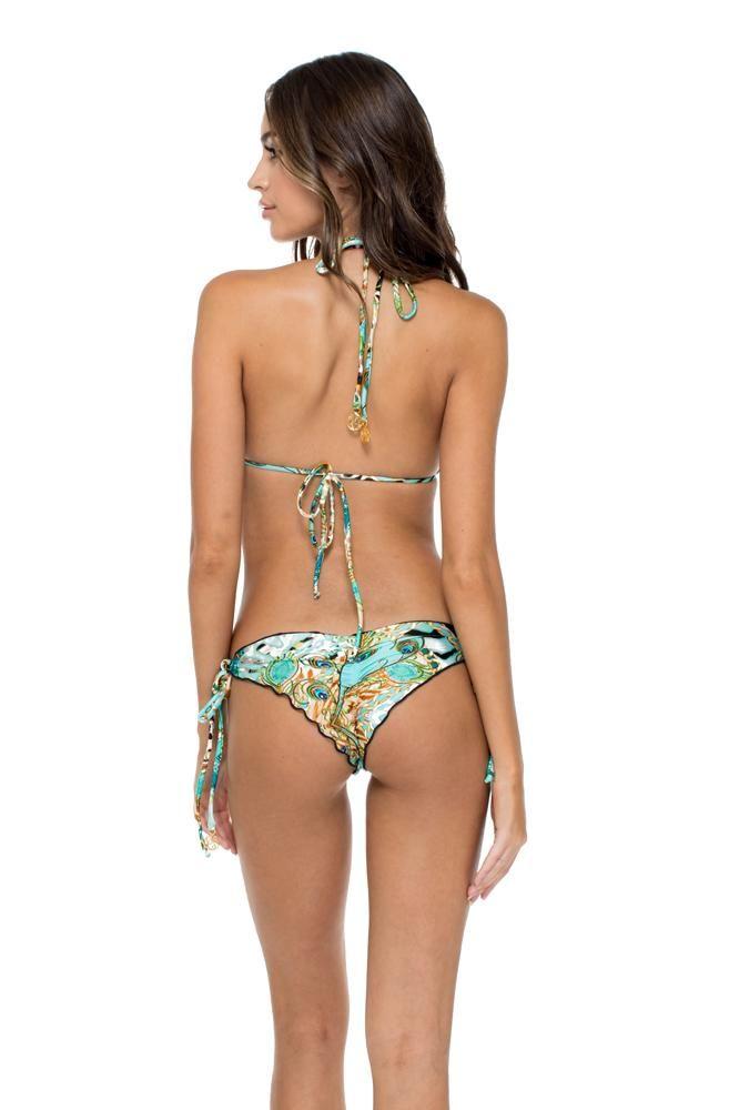 Crystallized Triangle Bikini #trianglebikinitop #trianglebikini #bikinibottom