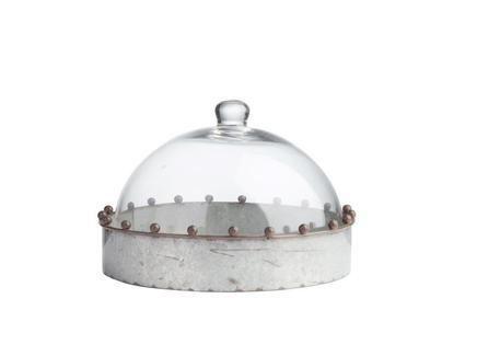 """Сервировочный поднос с куполом """"Baguette"""""""