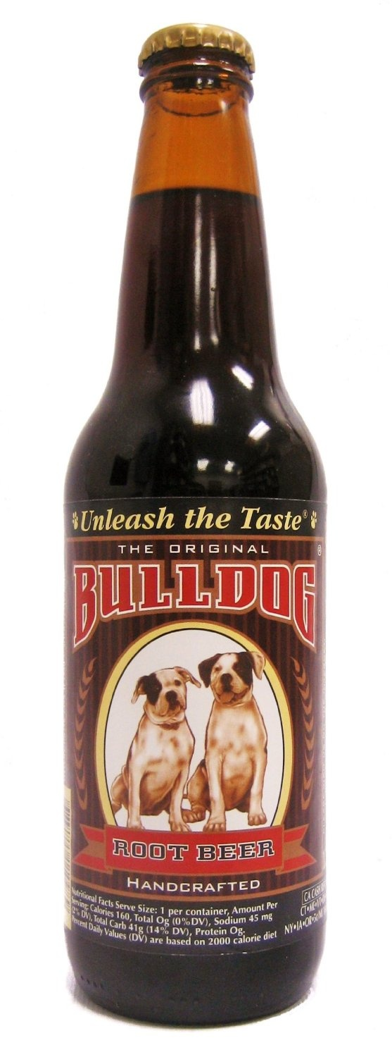 Bulldog Rootbeer; great for floats. Root beer, Beer, Old