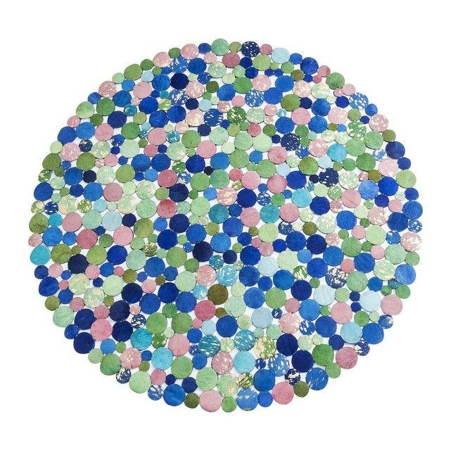 KARE DESIGN - Tapis Patchwork Circle Spring 150cm Kare Design   La Redoute