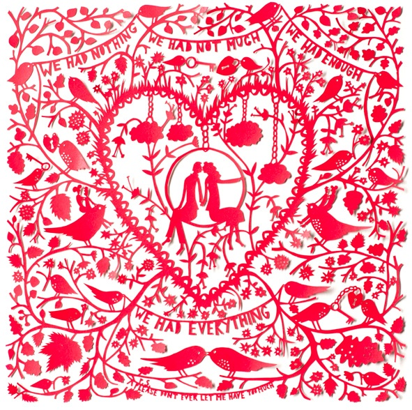 Take a trip down Columbia Road, London on a Sunday morning and pop in to Ryantown and ogle at the beautiful creations from Rob Ryan.