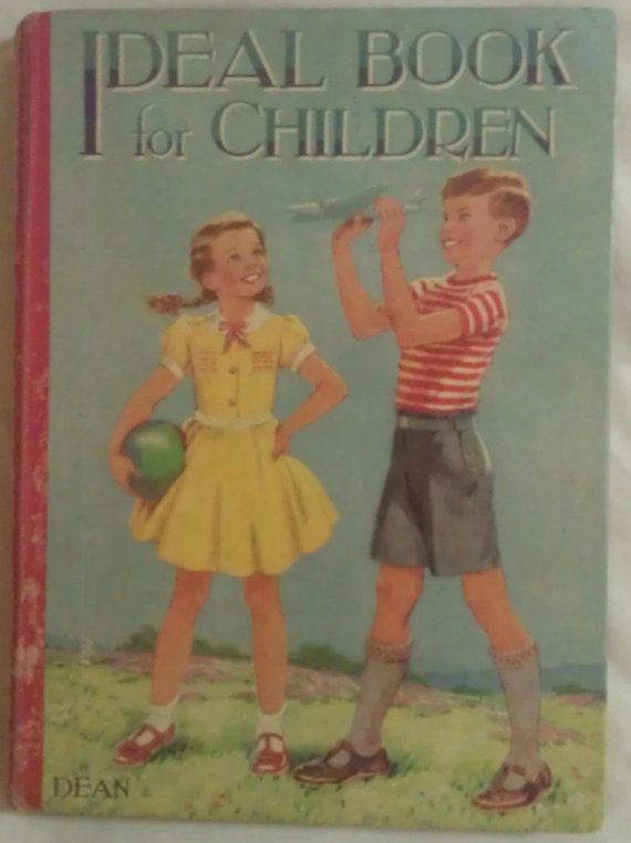 Ideal Book for Children Dean. Rare Vintage by avintagesparrowsnest, $20.00