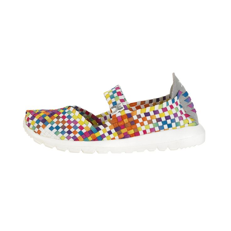 Hey Dude E-Last Mary Jane Shoe (Women's) - Black Tradition Special Offer