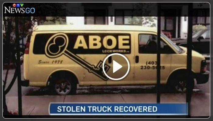 Truck & Locksmith Tools Taken by Thief