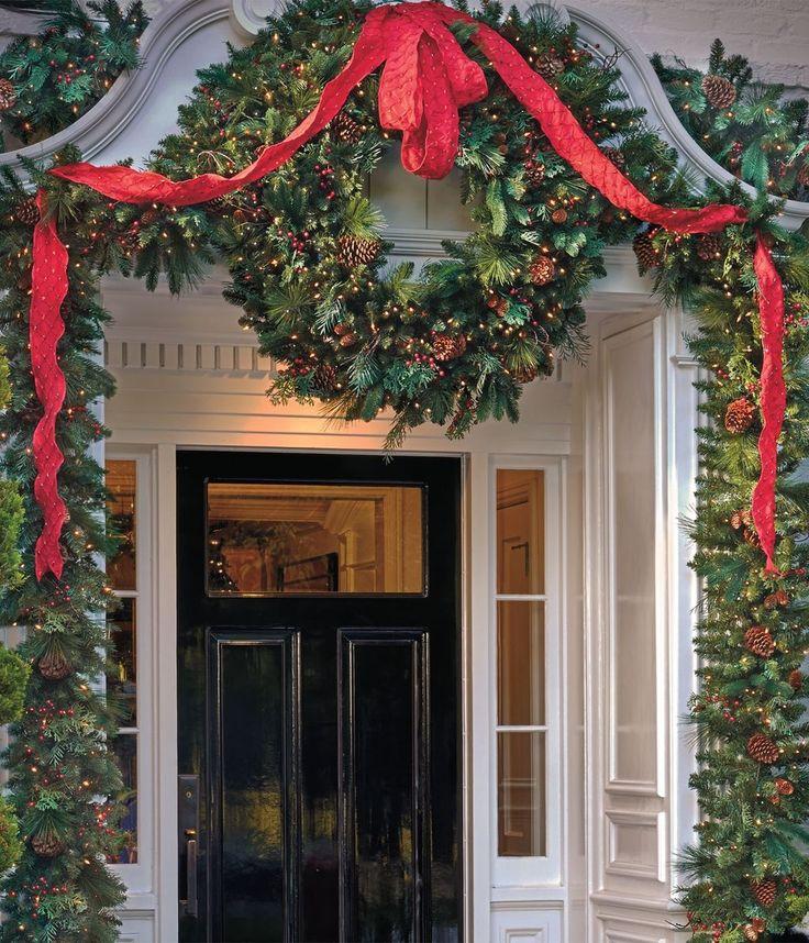Cozy Entryway Ideas: Best 25+ Christmas Entryway Ideas On Pinterest