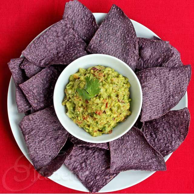 Guacamole Salsa [Jeanette's Healthy Living]