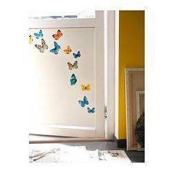 IKEA - SLÄTTHULT, Selvklebende dekorasjon, Med selvklebende dekorasjoner er det enkelt å fornye et rom uten maling eller tapetsering.Motiv av Labat og Rouquette.