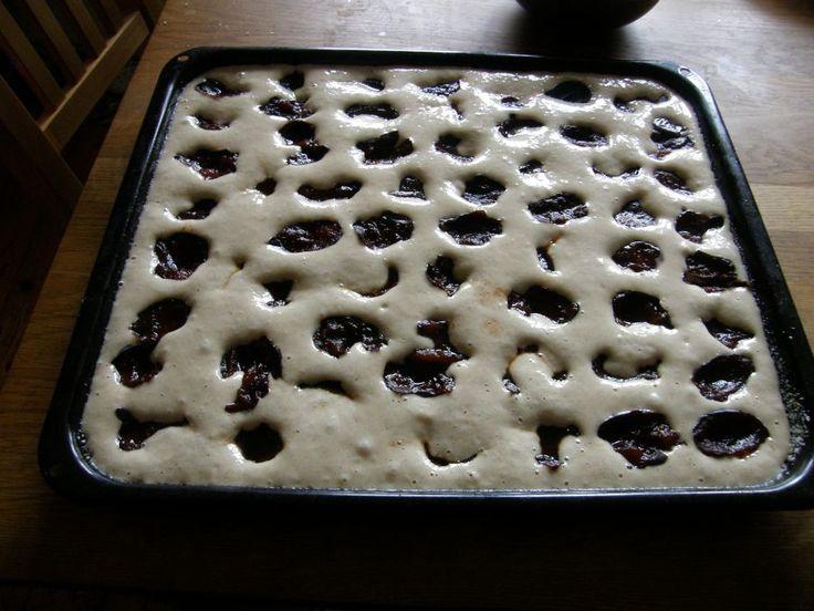 Tichý život: Kváskový švestkový koláč  kvaskovanie - vyskusat