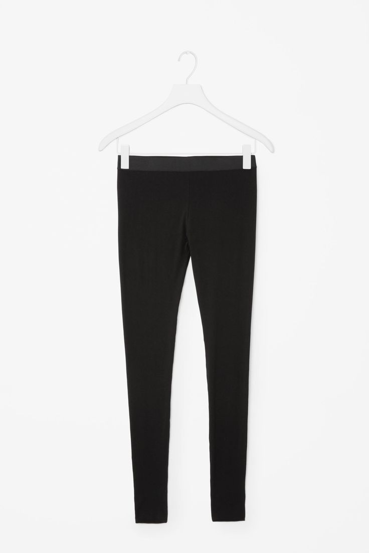 It's time for a re-up on your black leggings. Since they definitely count as pants, you deserve a pair that can keep up with all the wear.COS Cotton Jersey Leggings, $39, available at COS. #refinery29 http://www.refinery29.com/comfortable-clothing-work-appropriate#slide-27