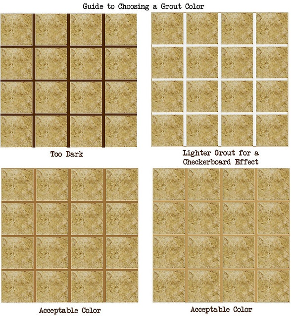 How to Choose a Grout Color | Best Grout and Mosaics ideas