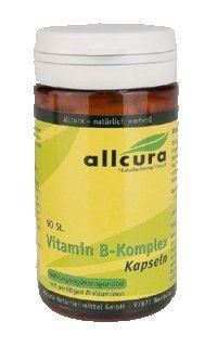 Allcura Vitamin B Komplex Kapseln 90 Stück