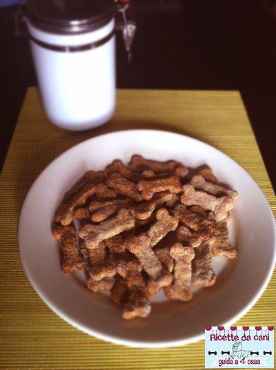 Biscotti Mela e Cocco - (Ricette da Cani)
