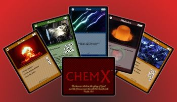 This card game is incredibly popular with my Honors Chemistry class and is now required curriculum at the high school where I teach. The game requires that students write out balanced chemical equations to perform attacks and blocks. The cards specify real binary compounds and their resulting real-life products.