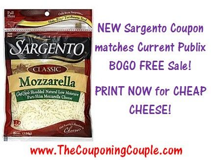 Now theres Publix Q AND a printable Sargento Shredded Cheese Printable that matches the BOGO FREE sale going on right now! You can get the FULL BREAKDOWN ► http://www.thecouponingcouple.com/new-sargento-cheese-coupon-matches-publix-sale/  #Coupons #Couponing #CouponCommunity