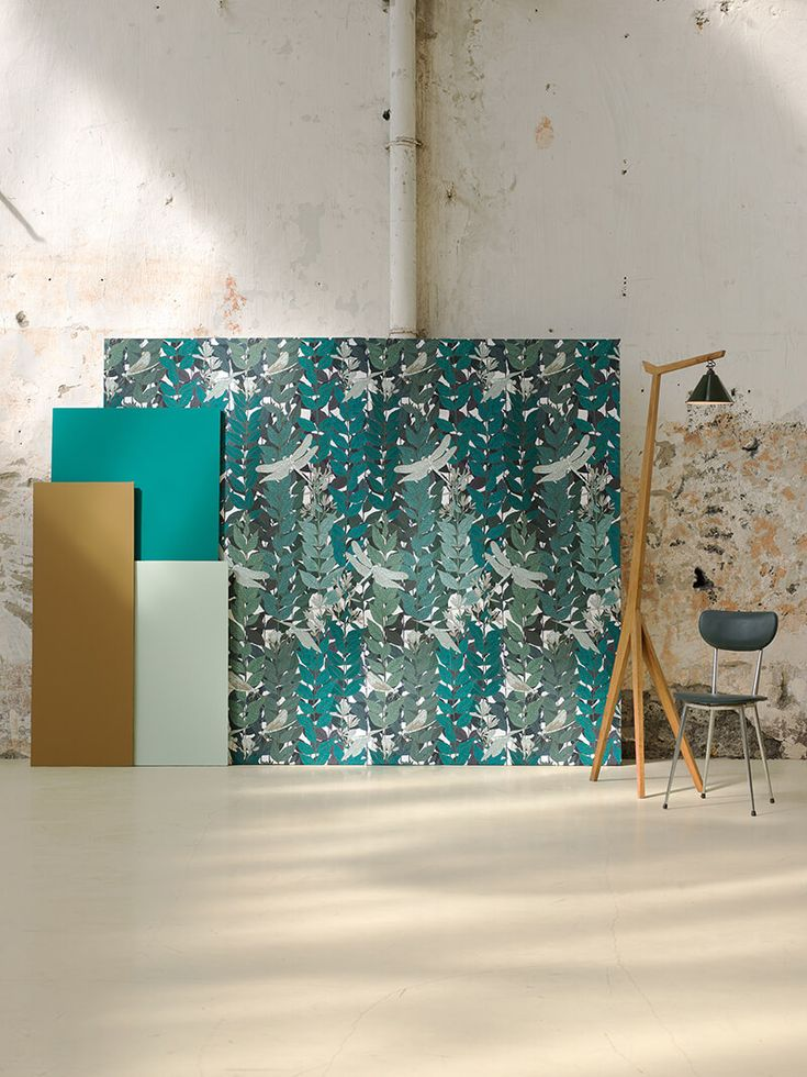 64 best Couleur et revêtement mur images on Pinterest Homes - peindre sur papier vinyl