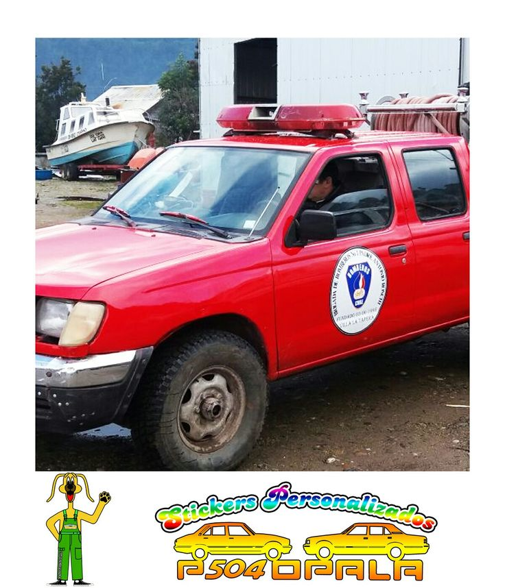 Sticker logo Bomberos de Tapera