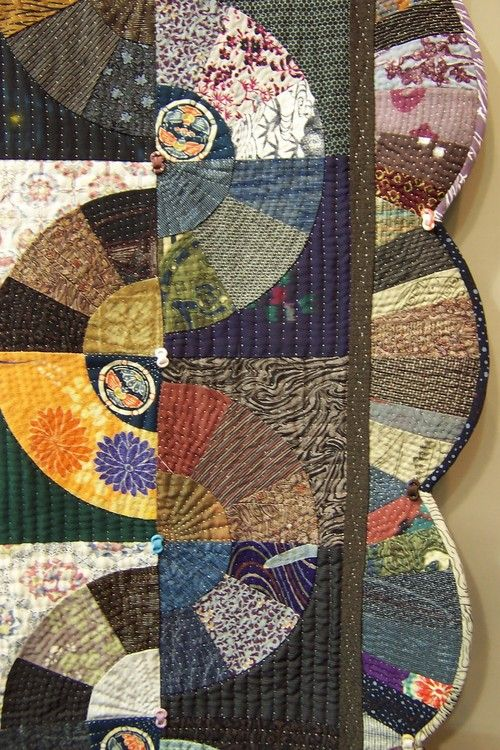 Old pattern, great new ideas.: Quilts Festival, Idea, Pattern, Color, Quilts Border, Photo