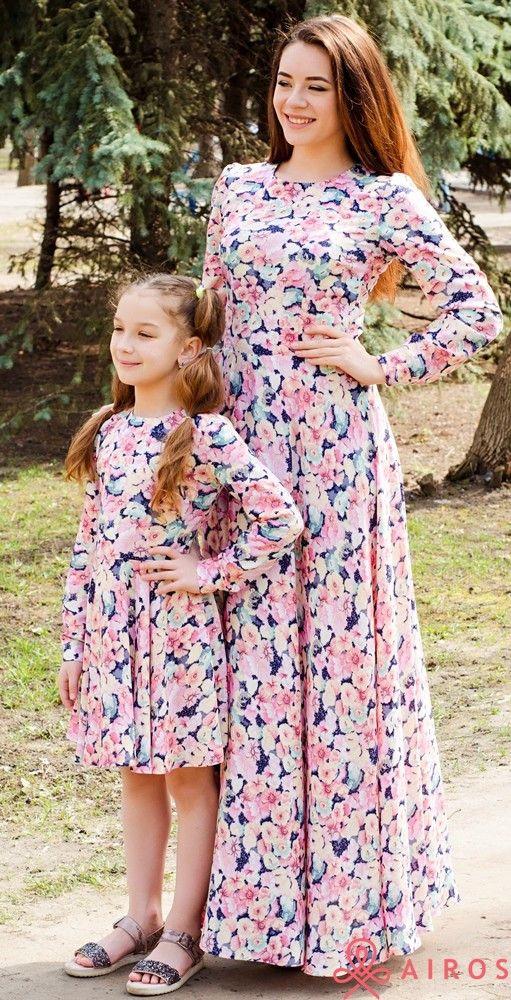 3011765d9b5 Одинаковые летние платья мама и дочка - Интернет магазин «leggi.prom.ua»