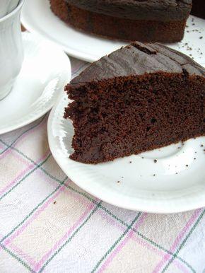 Torta barbabietole rosse e cacao