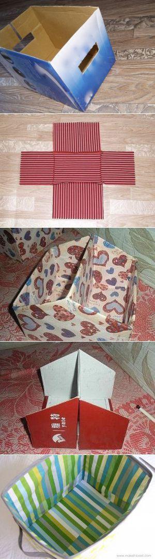 Коробки для хранения своими руками | Hand made_Рукоделие. Сделай сам! | Постила