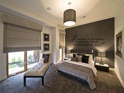"""IF I LAY HERE Snow Patrol Wall Decal Words Lettering Quote Bedroom Home 36"""""""