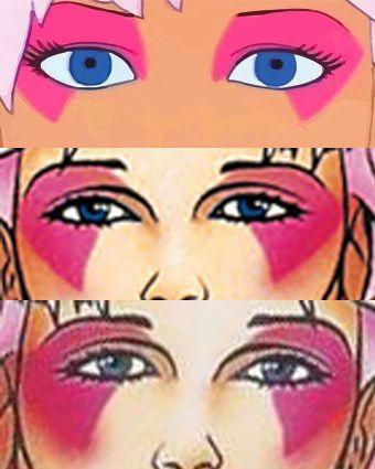Request Jem (cartoon make-up) for Emalove